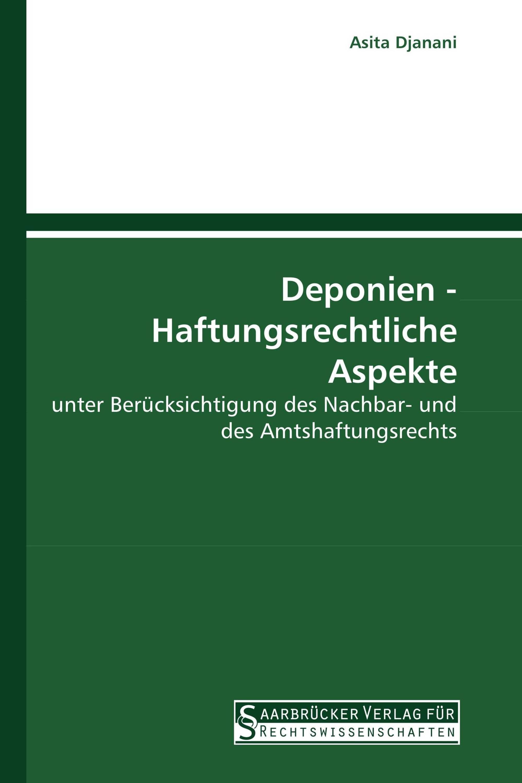 Deponien - Haftungsrechtliche Aspekte