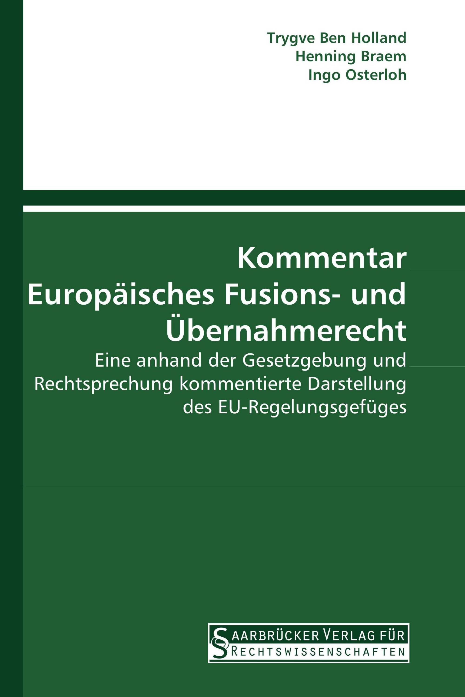 Kommentar Europäisches Fusions- und Übernahmerecht
