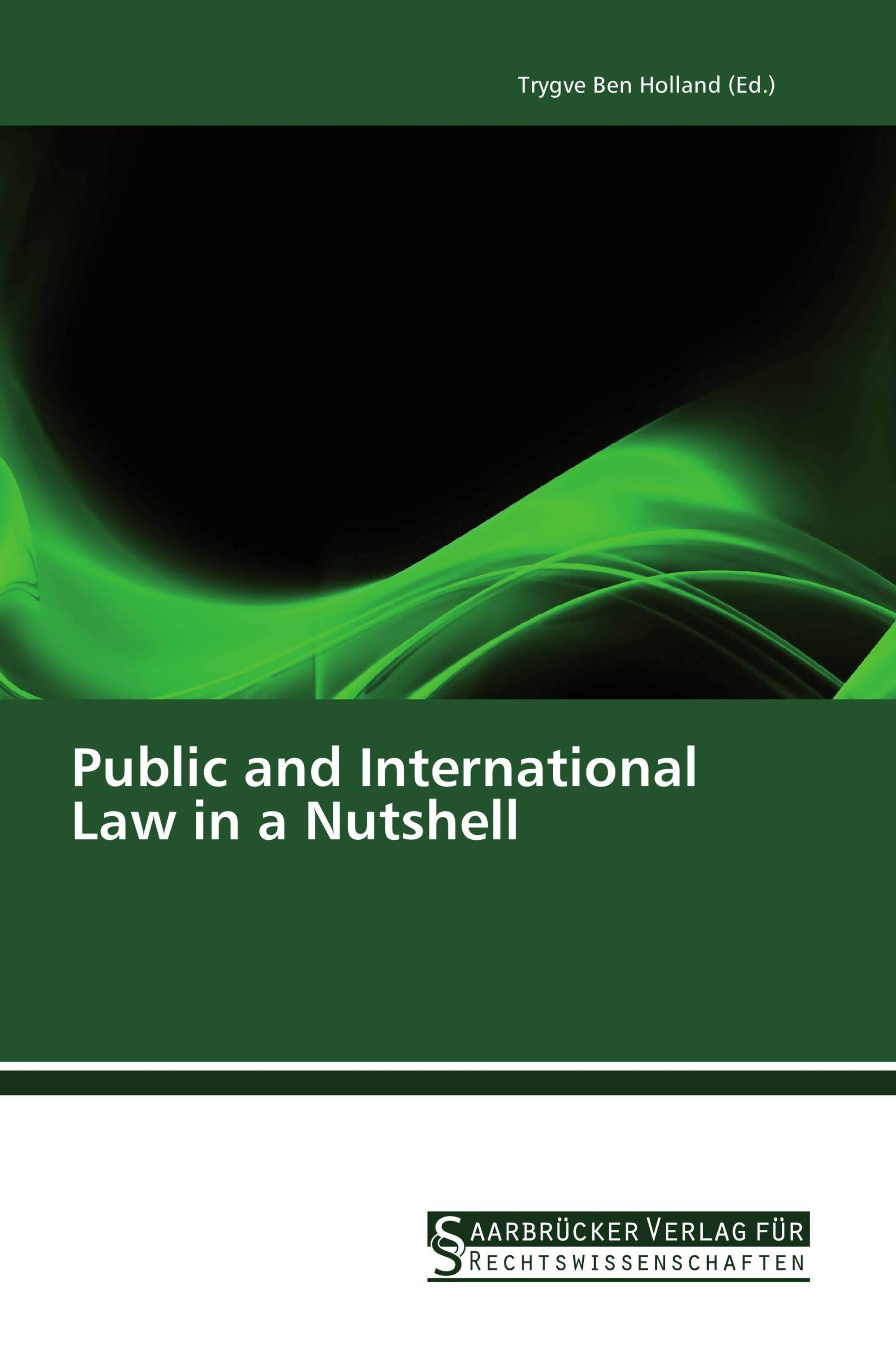 Public and International Law in a Nutshell