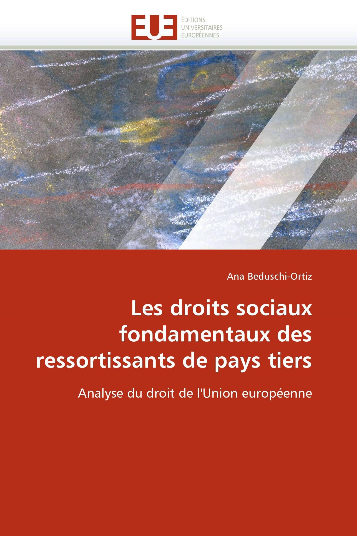 Les droits sociaux fondamentaux des ressortissants de pays tiers