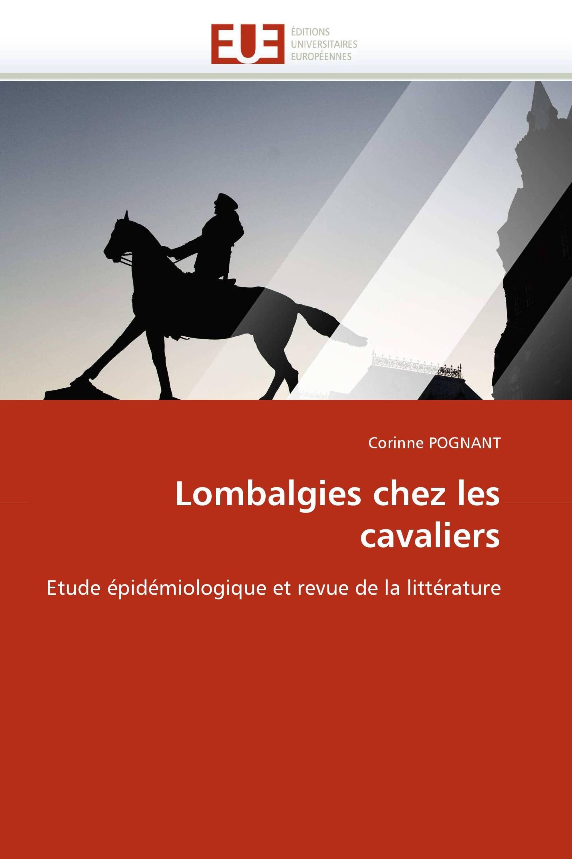 Lombalgies chez les cavaliers / 978-613-1-56324-9 / 9786131563249 ...