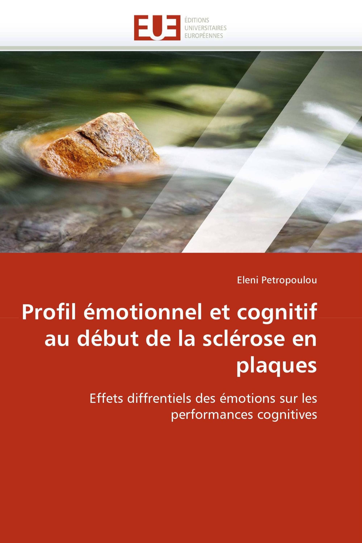 Profil émotionnel et cognitif au début de la sclérose en plaques