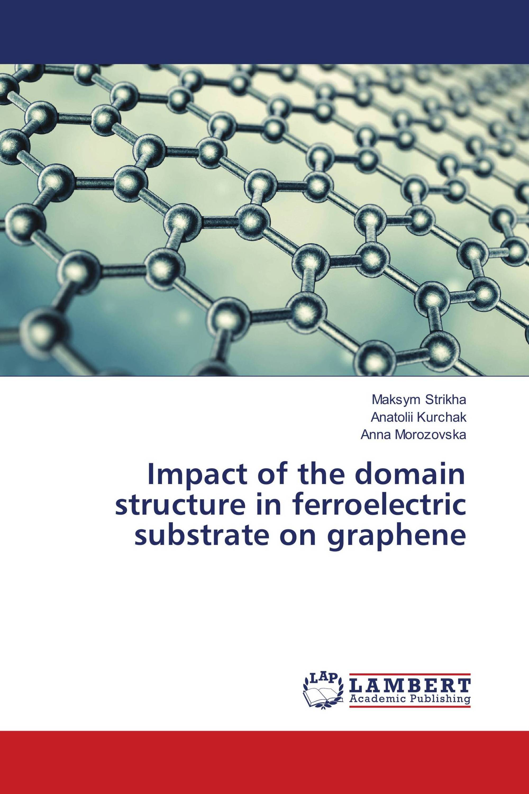 Impact of the domain structure in ferroelectric substrate on graphene