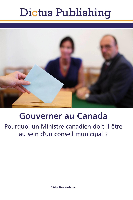 Gouverner au Canada