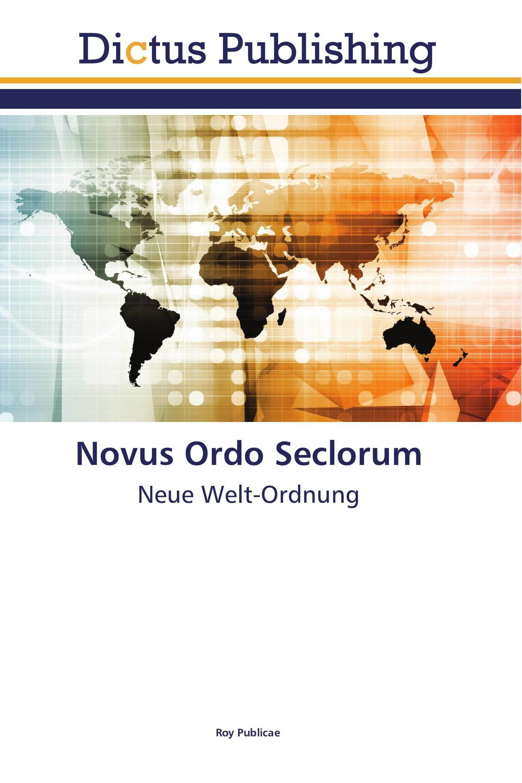 Novus Ordo Seclorum