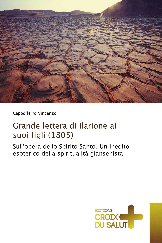 Grande lettera di Ilarione ai suoi figli (1805)