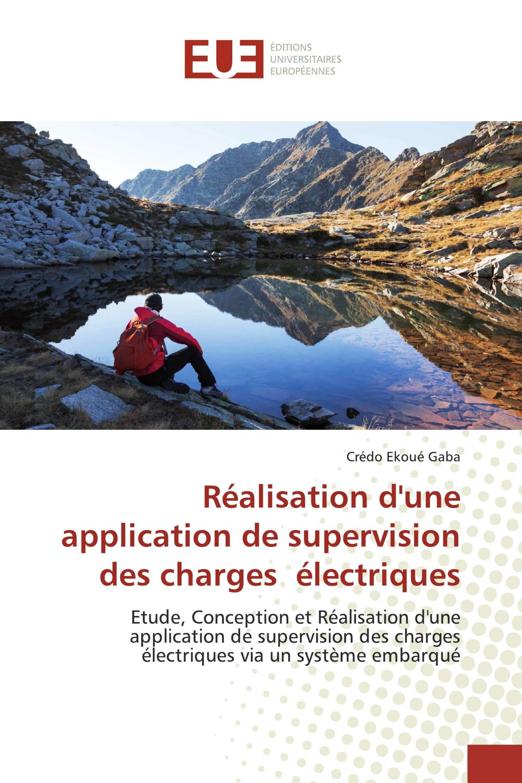 Réalisation d'une application de supervision des charges électriques