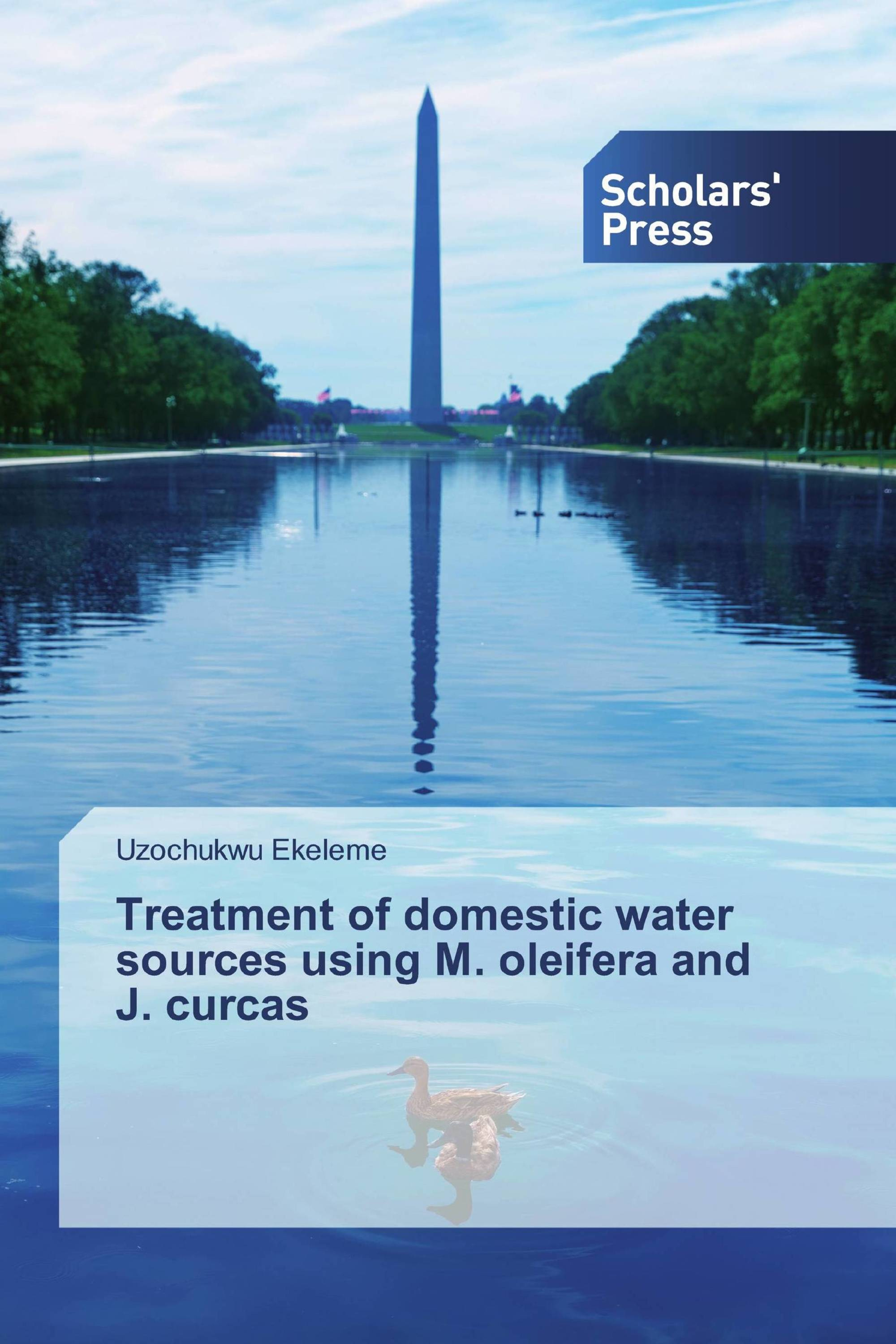 Treatment of domestic water sources using M. oleifera and J. curcas