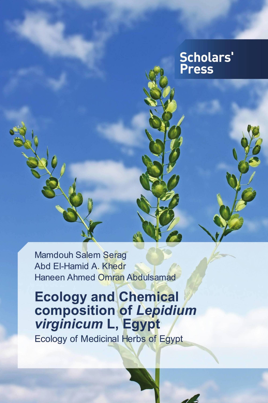 Ecology and Chemical composition of Lepidium virginicum L, Egypt