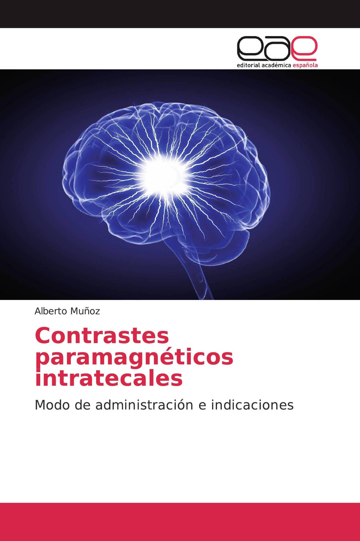 Contrastes paramagnéticos intratecales