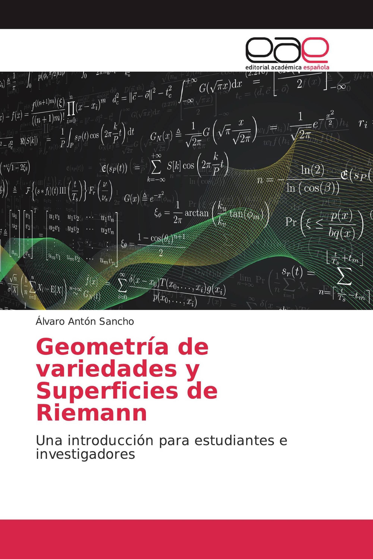 Geometría de variedades y Superficies de Riemann
