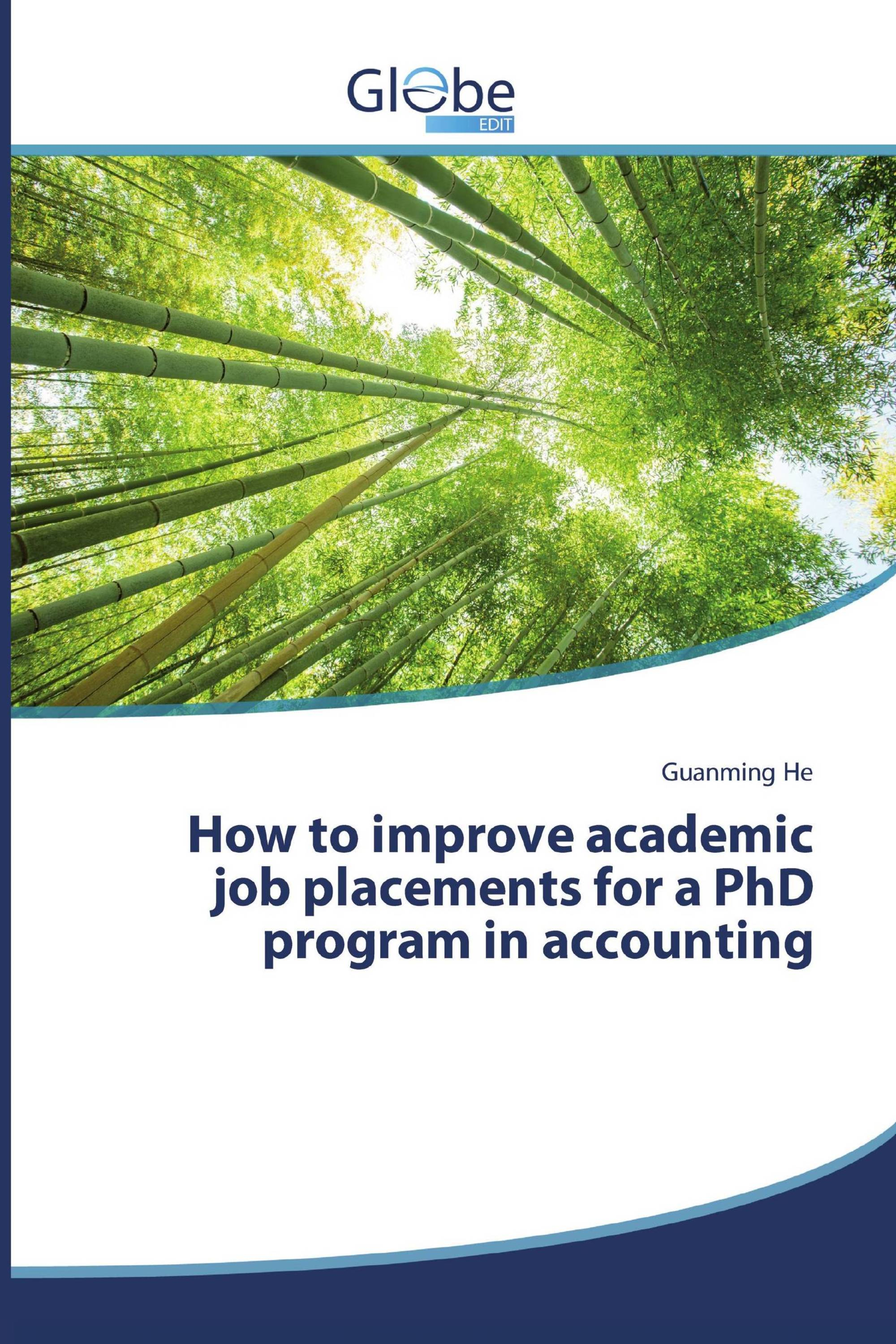 How to improve academic job placements for a PhD program in accounting