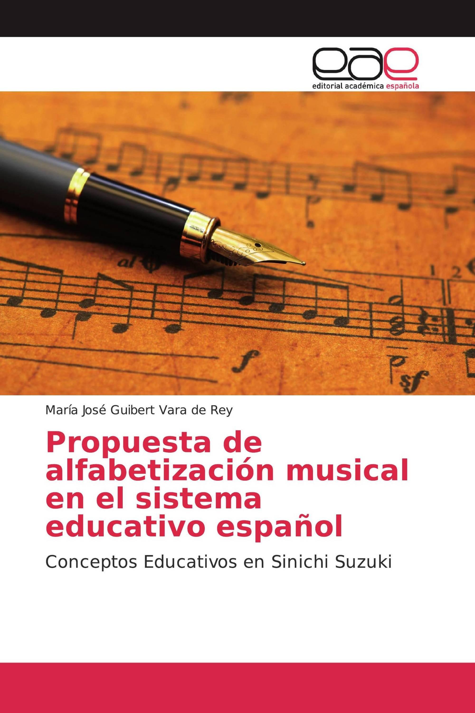 Propuesta de alfabetización musical en el sistema educativo español