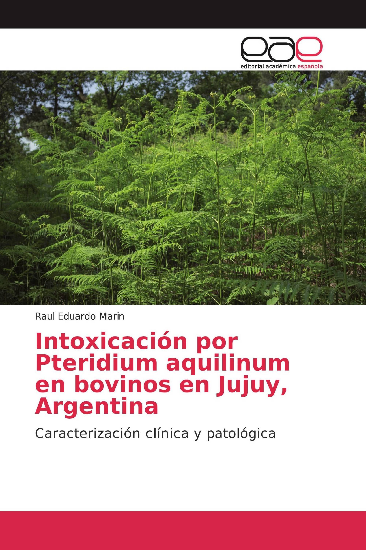 Intoxicación por Pteridium aquilinum en bovinos en Jujuy, Argentina
