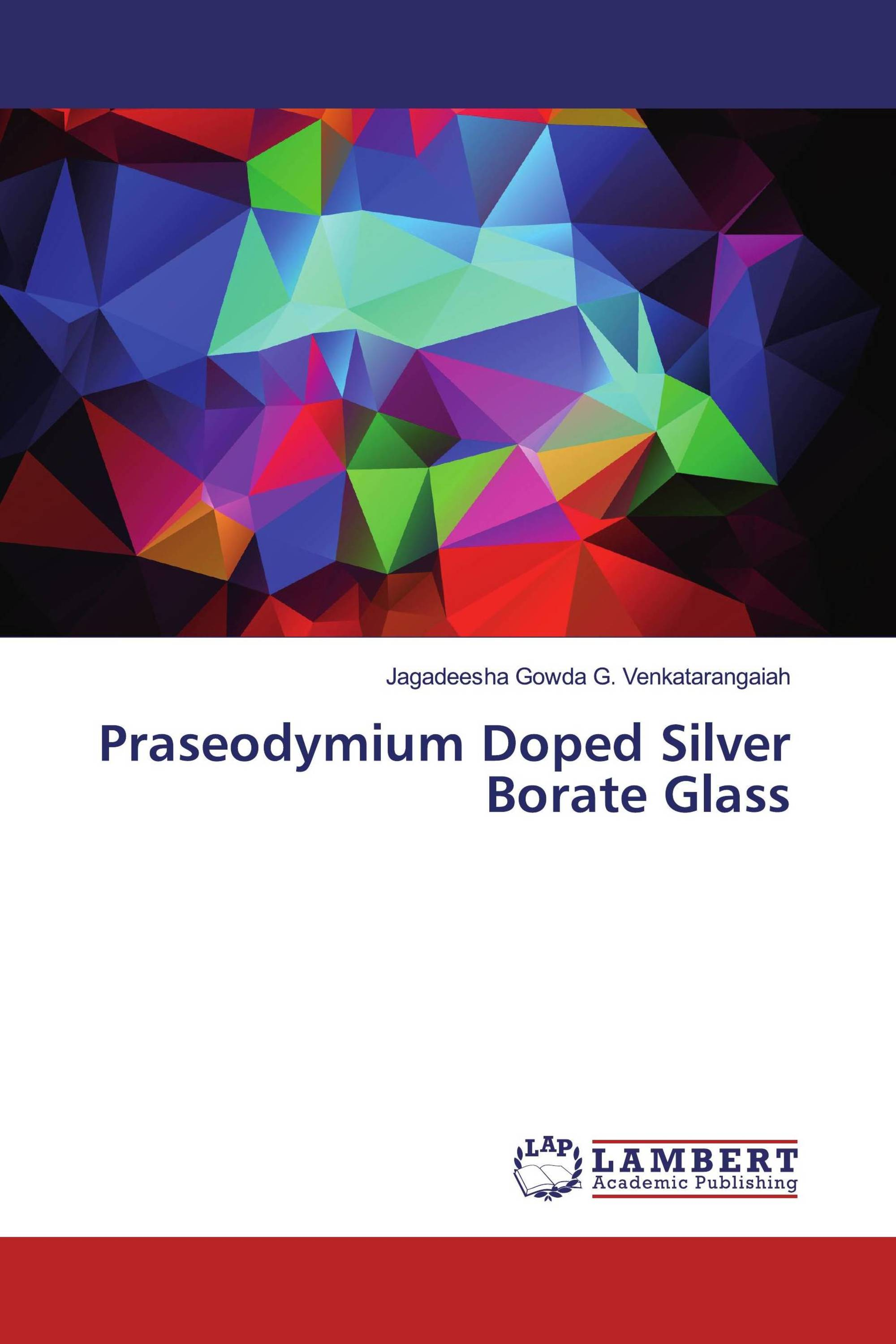Praseodymium Doped Silver Borate Glass