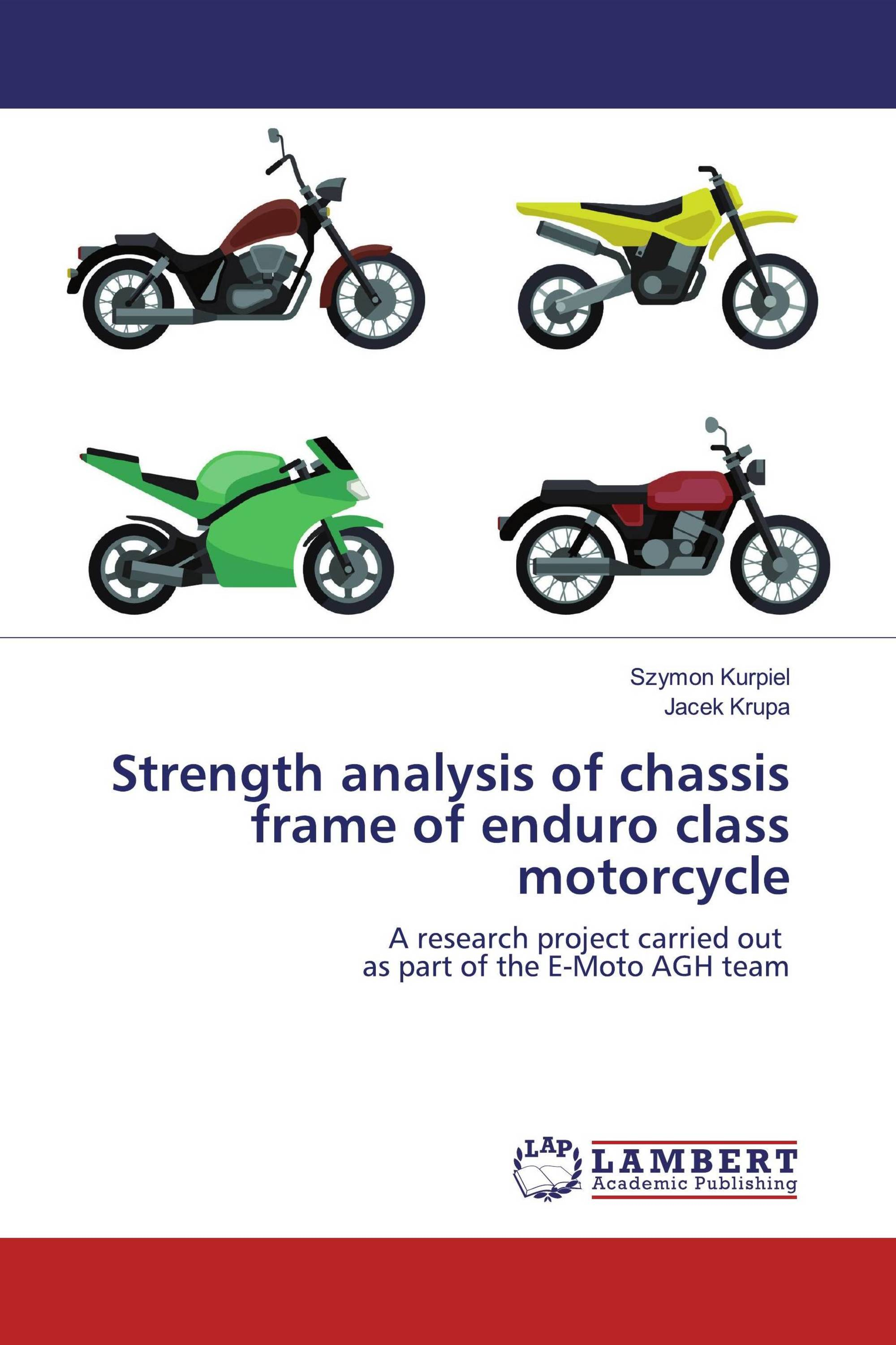 Strength analysis of chassis frame of enduro class