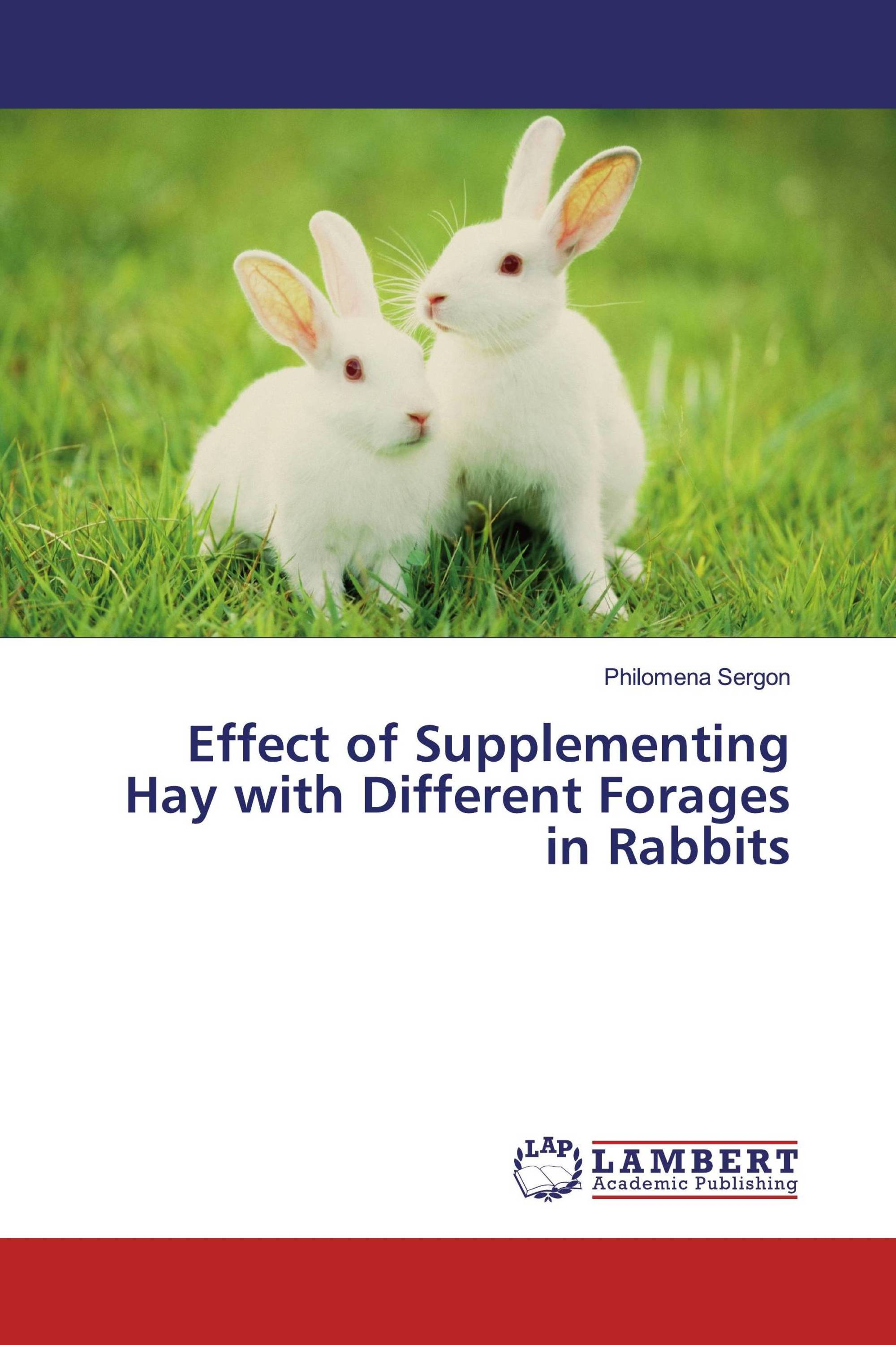 Effect of Supplementing Hay with Different Forages in Rabbits