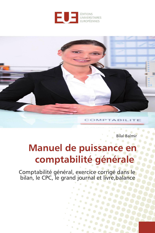 Manuel De Puissance En Comptabilite Generale
