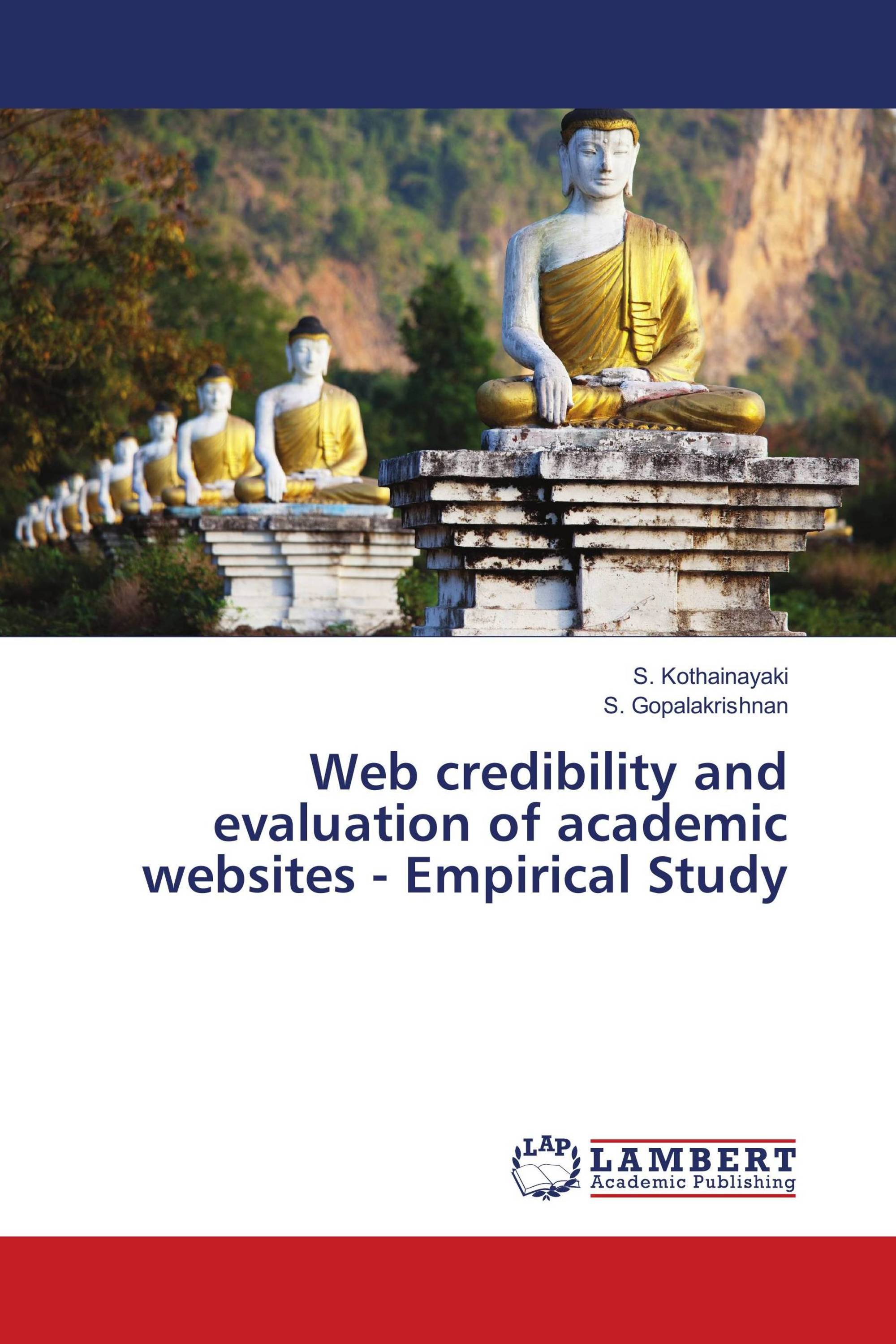 Web credibility and evaluation of academic websites
