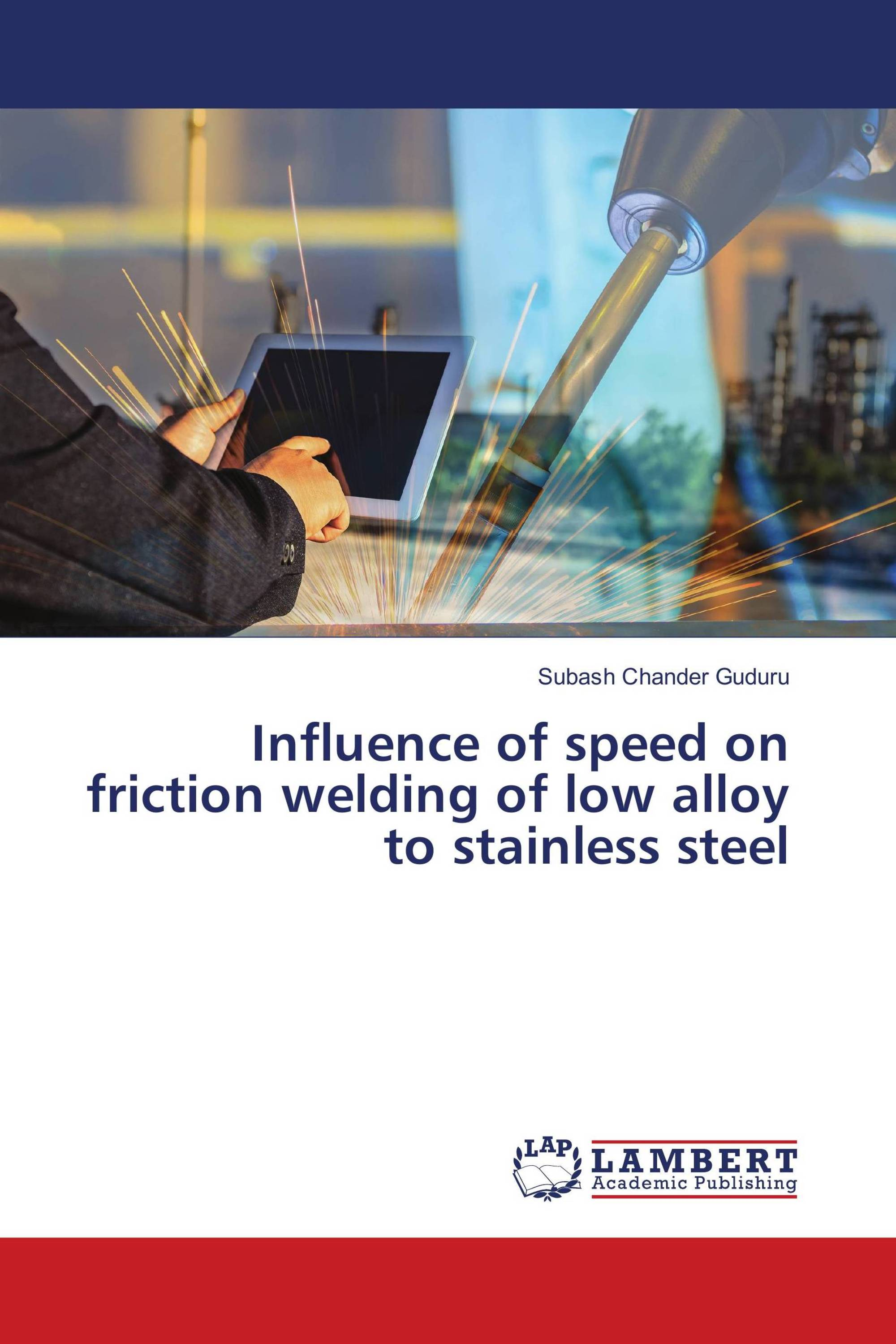 Influence of speed on friction welding of low alloy to stainless steel