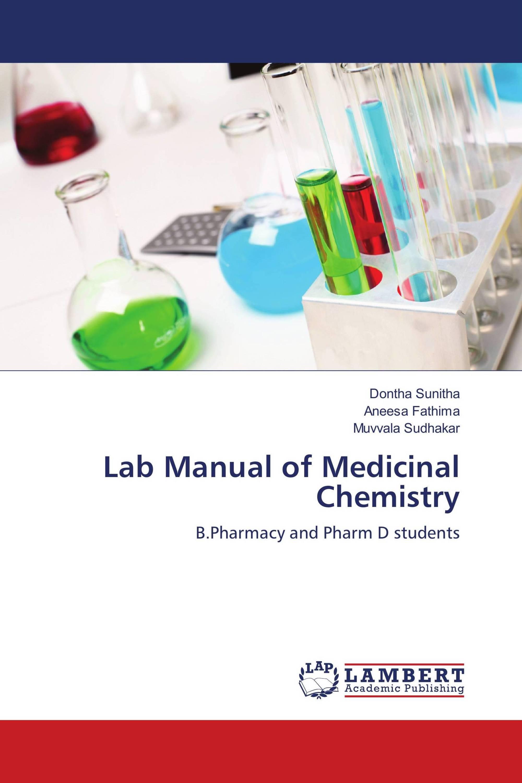 Lab Manual of Medicinal Chemistry / 978-613-9-85883-5