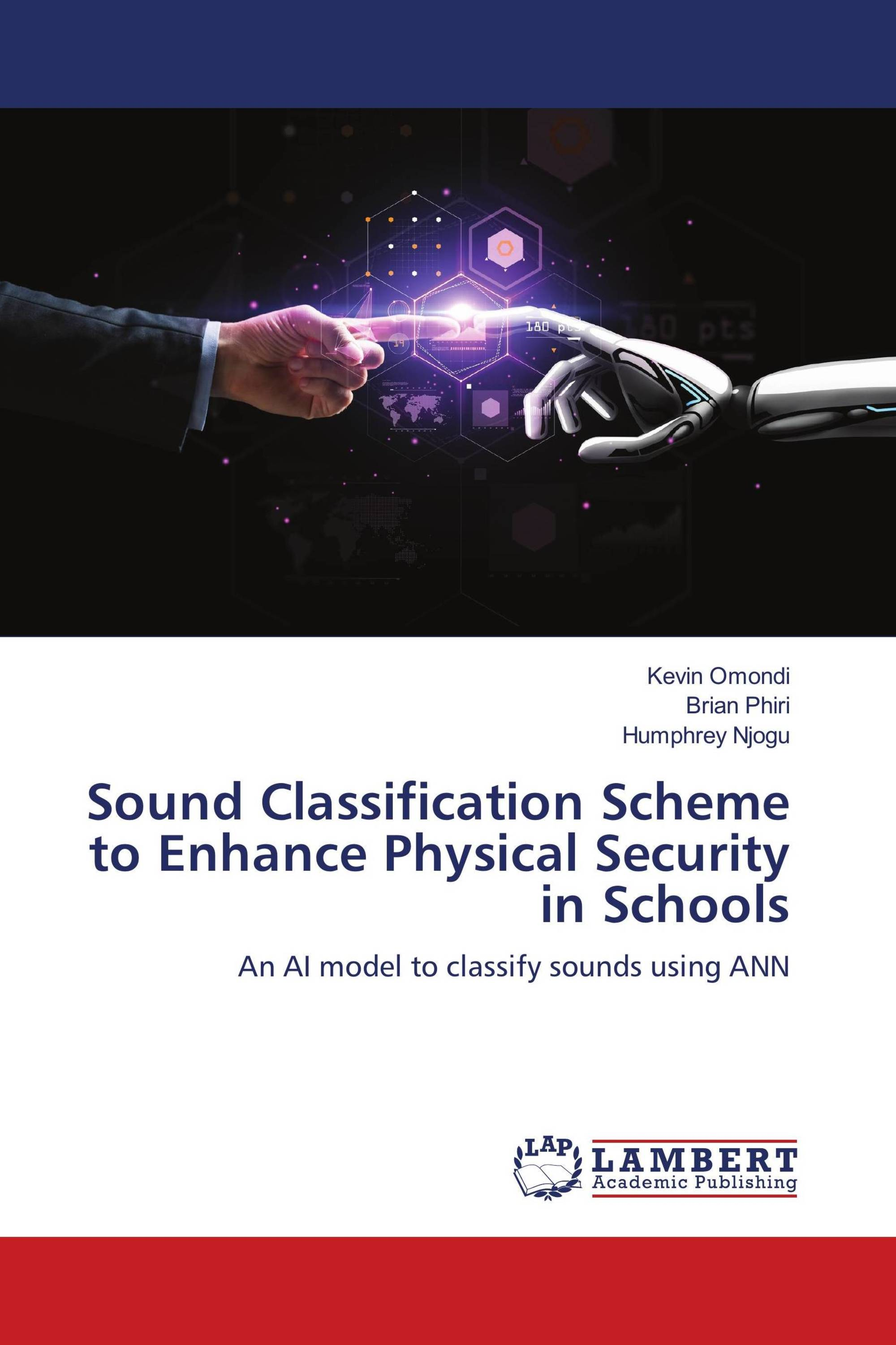 Sound Classification Scheme to Enhance Physical Security in