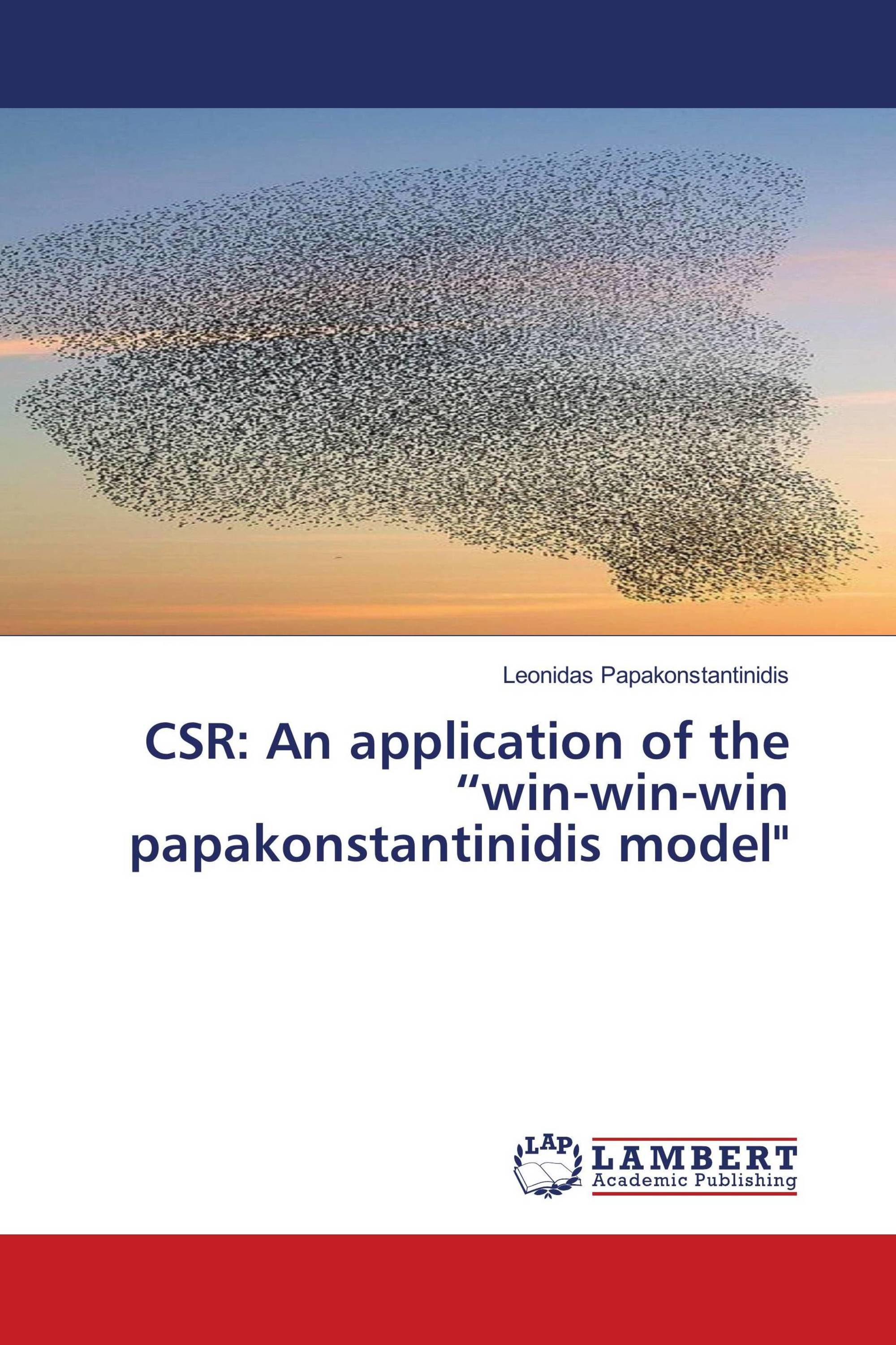 "CSR: An application of the ""win-win-win papakonstantinidis model"""