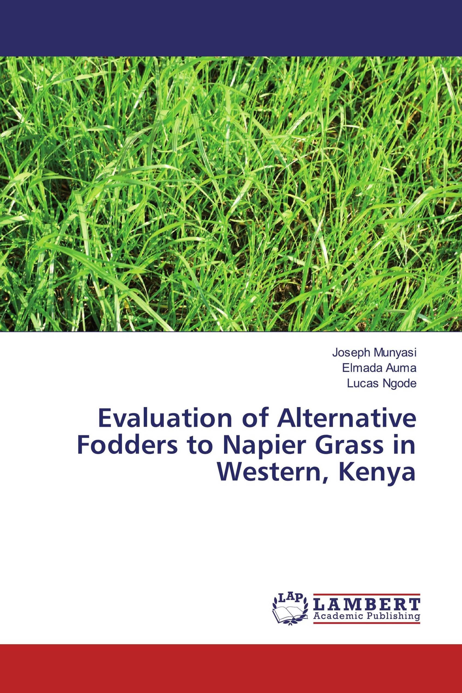 Evaluation of Alternative Fodders to Napier Grass in Western, Kenya