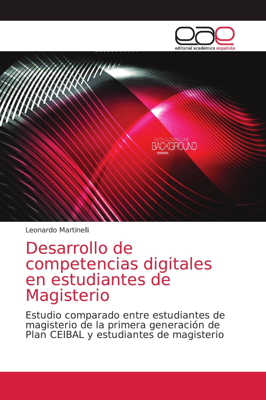 Desarrollo de competencias digitales en estudiantes de Magisterio