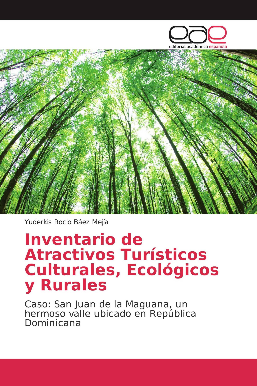 Inventario de Atractivos Turísticos Culturales, Ecológicos y Rurales