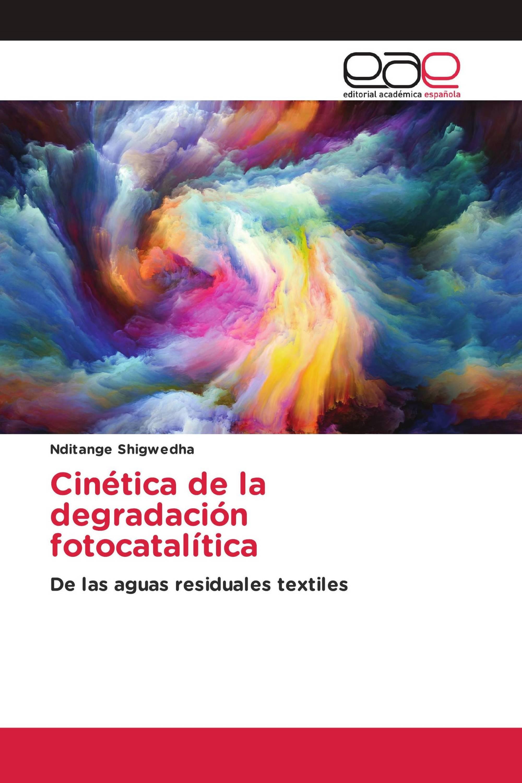Cinética de la degradación fotocatalítica