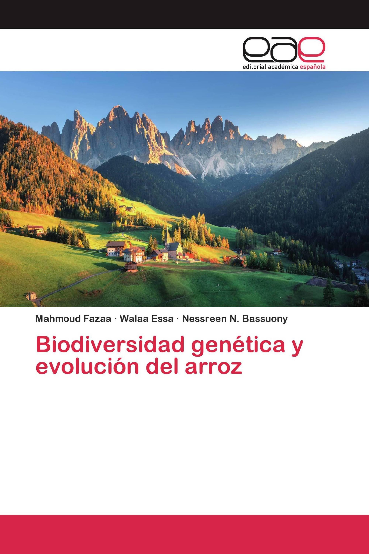 Biodiversidad genética y evolución del arroz