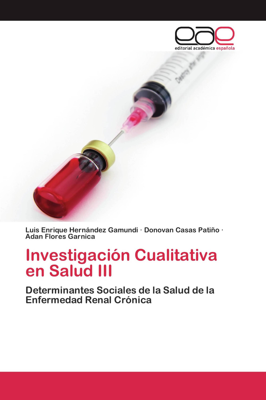 Investigación Cualitativa en Salud III