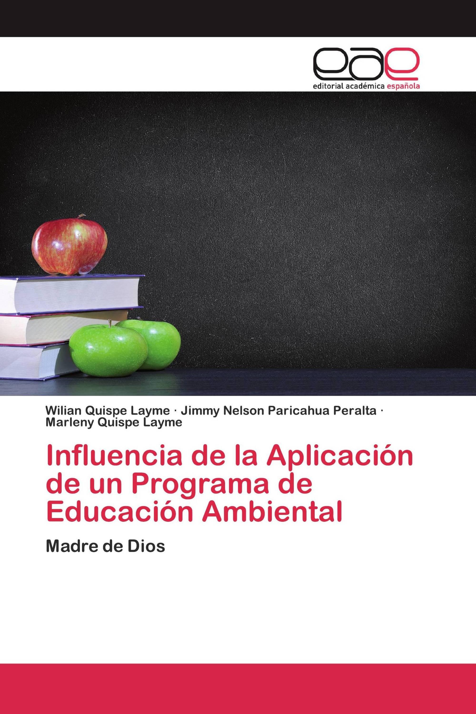 Influencia de la Aplicación de un Programa de Educación Ambiental