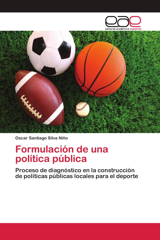 Formulación de una política pública