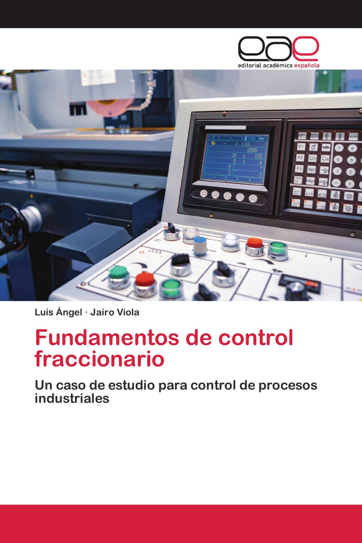 Fundamentos de control fraccionario
