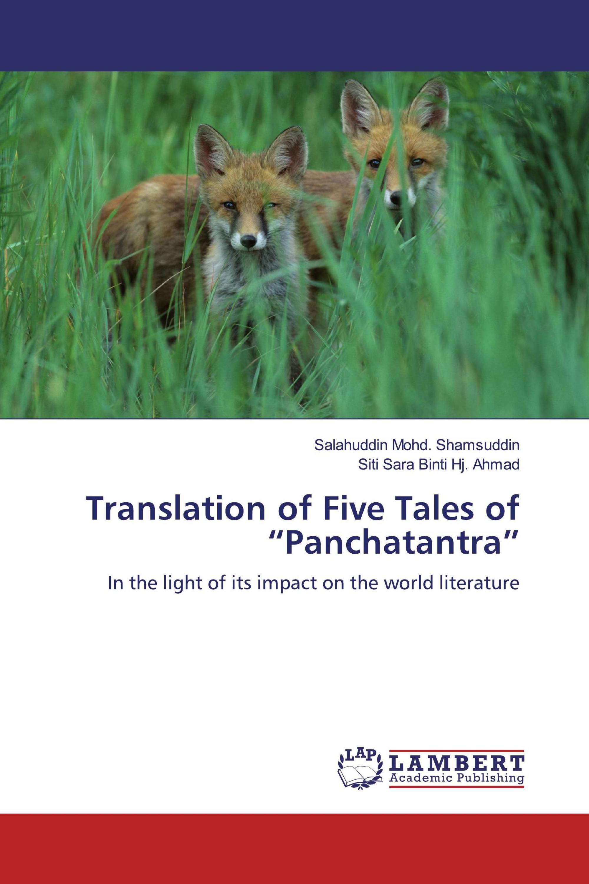 """Translation of Five Tales of """"Panchatantra"""""""
