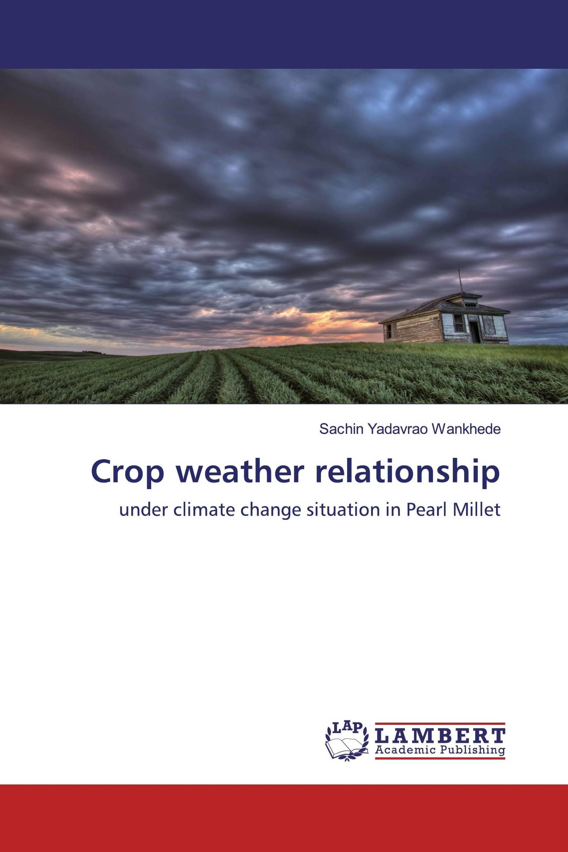 Crop weather relationship