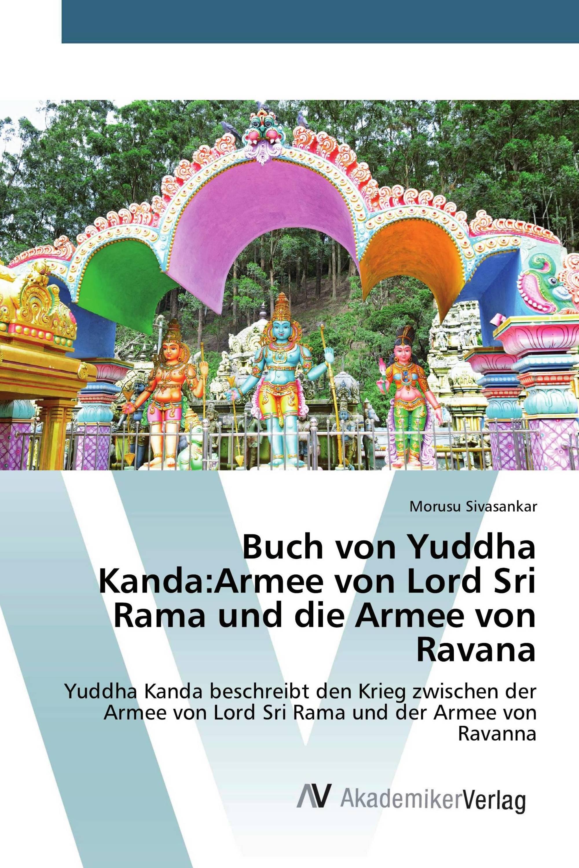 Buch von Yuddha Kanda:Armee von Lord Sri Rama und die Armee von Ravana