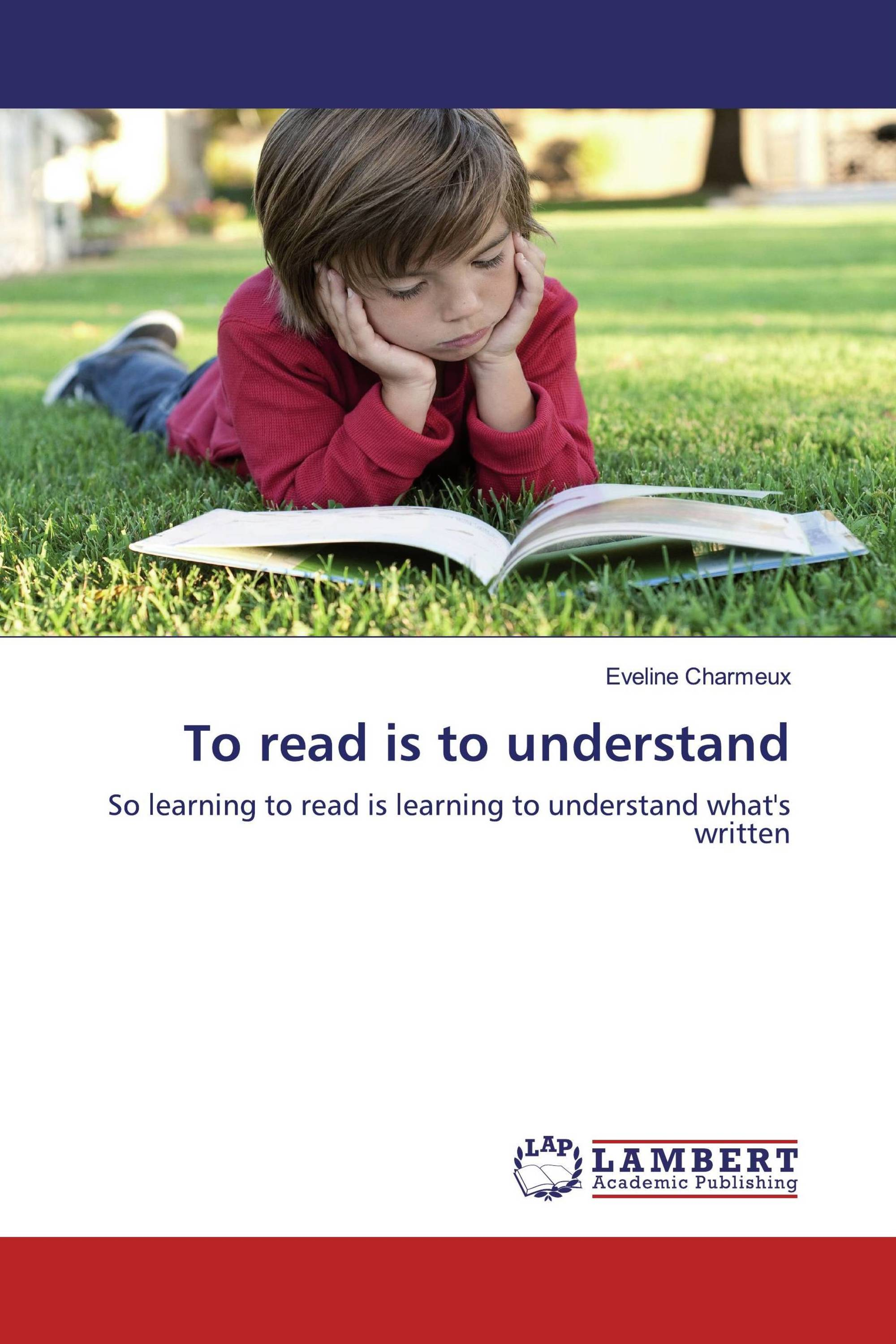 To read is to understand