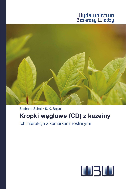 Kropki węglowe (CD) z kazeiny