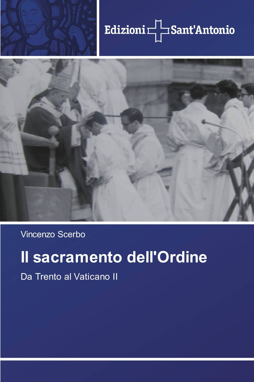 Il sacramento dell'Ordine