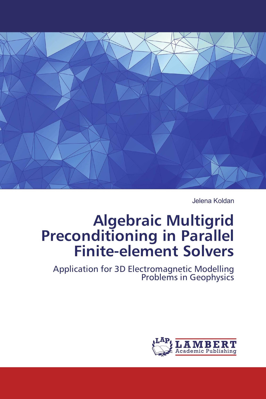 Algebraic Multigrid Preconditioning in Parallel Finite-element Solvers