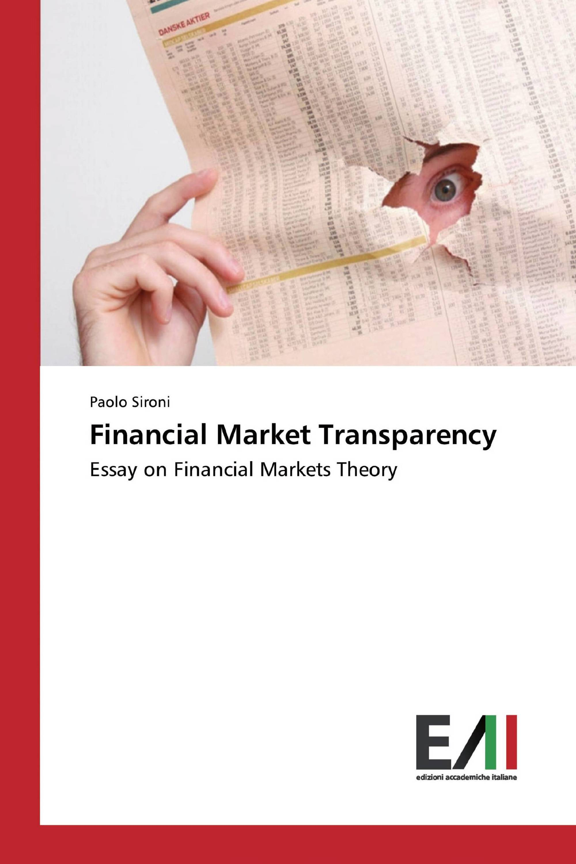 Financial Market Transparency