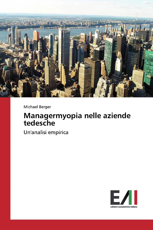 Managermyopia nelle aziende tedesche