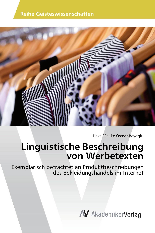 Linguistische Beschreibung von Werbetexten