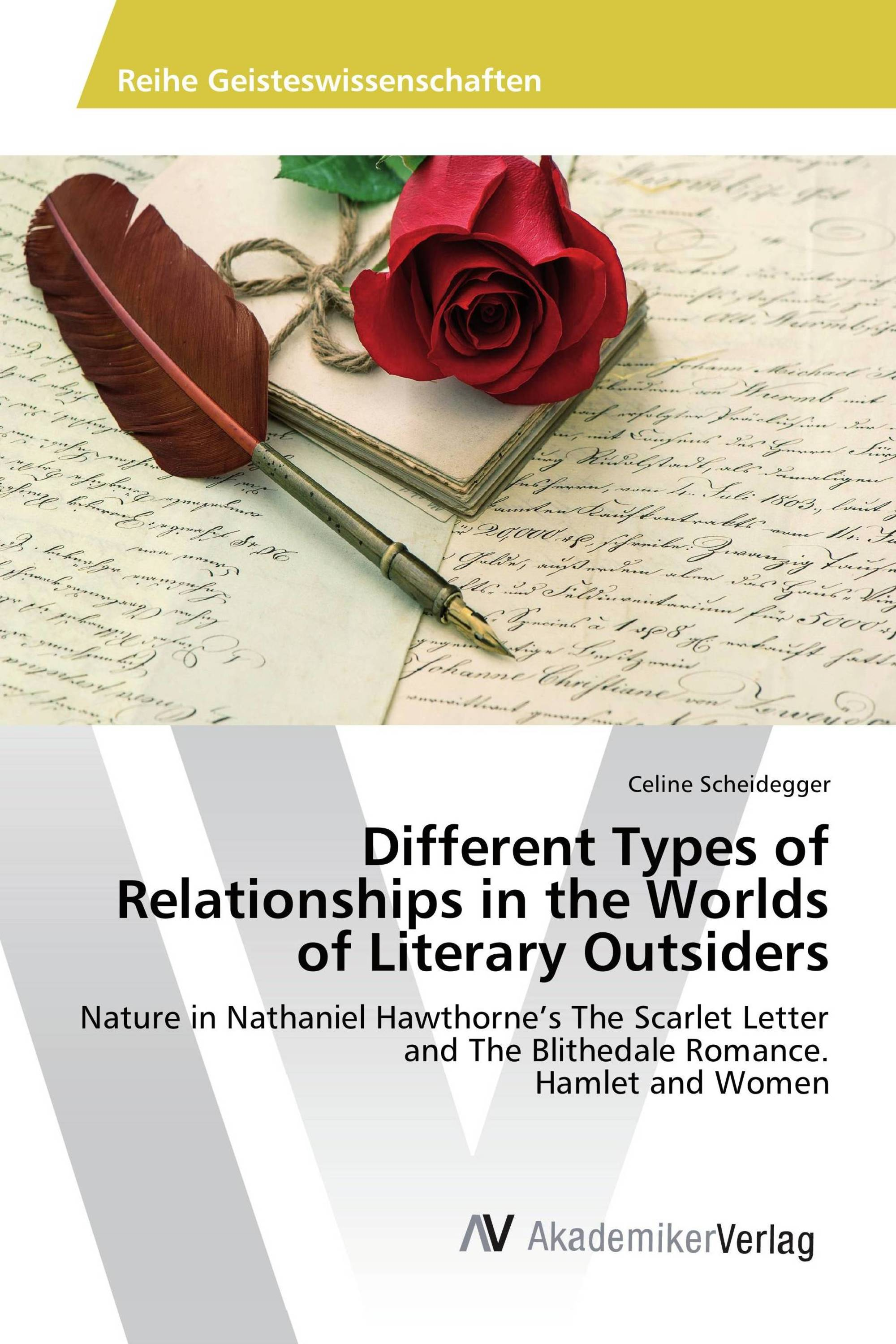 Different Types of Relationships in the Worlds of Literary Outsiders