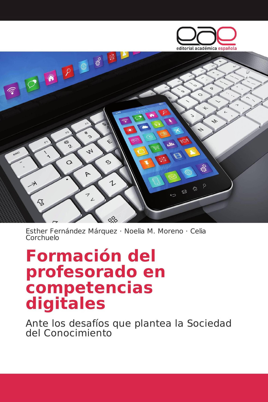 Formación del profesorado en competencias digitales