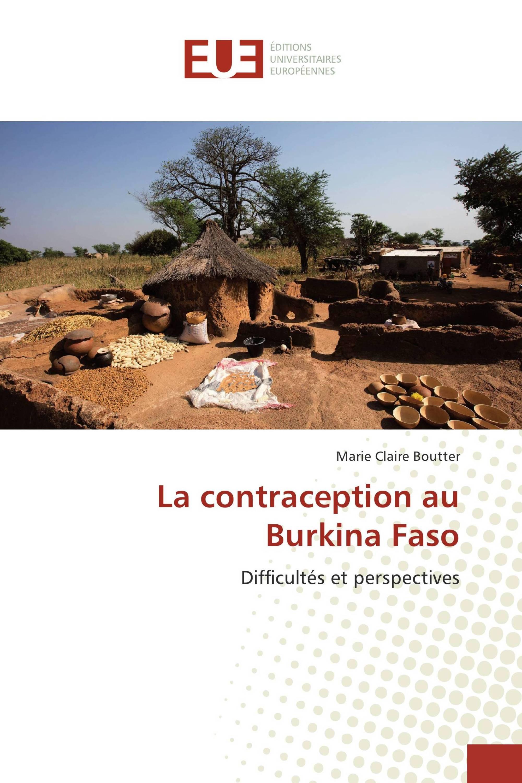La contraception au Burkina Faso