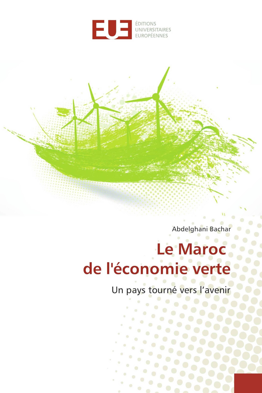 Le Maroc de l'économie verte
